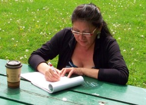 Joanna Shawana writing