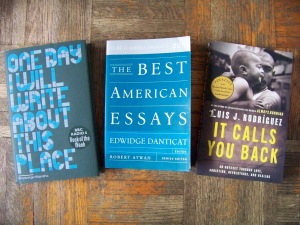 Winter 2013 Memoir Reading List
