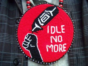 Idle No More beading
