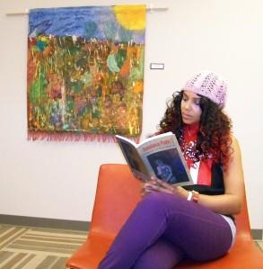 Malikah reading 2