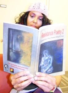 Malikah reading