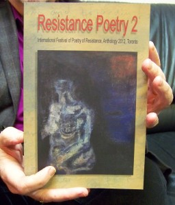 Roger Langen holding book