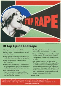 Problematic Rape Prevention Tips