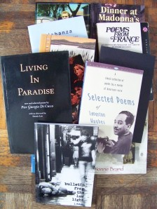 Summer 2013 Reading List Poetry books