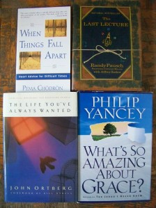 Summer 2013 Reading List Spiritual Books