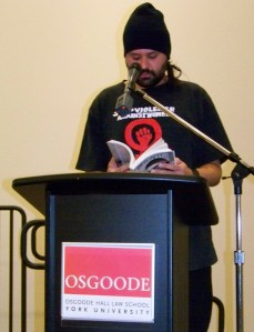 Reading at SPINLAW 2014